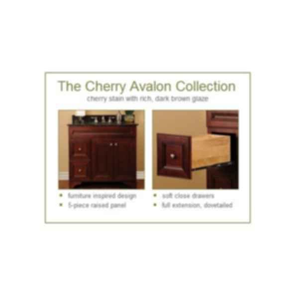Cherry Avalon Bathroom Cabinet