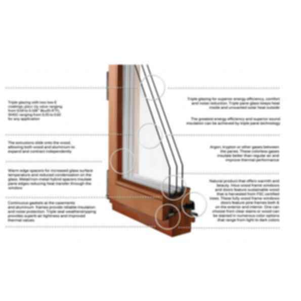 Premier 68 Window - wood