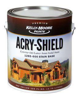 1285 Acry Shield Exterior Oil Latex Stain Base Modlar Com