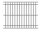 74-640120 Fence Panel