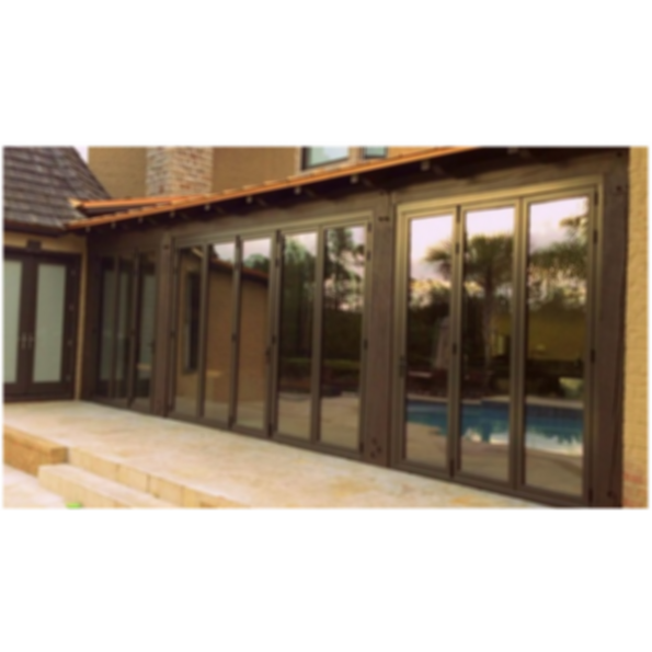 The TS.60 Thermally Broken Folding Door
