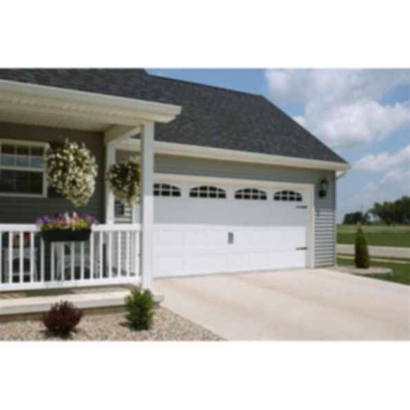 Residential Carriage House Stamped Garage Door - 5216