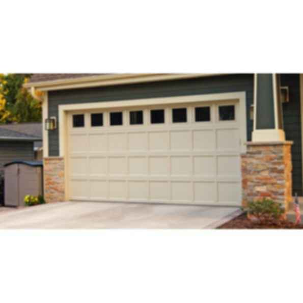 Residential Recessed Panel Garage Door - 2298