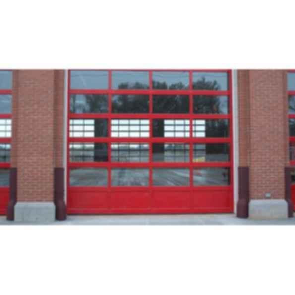 Commercial Aluminum Full View Garage Door - 3295