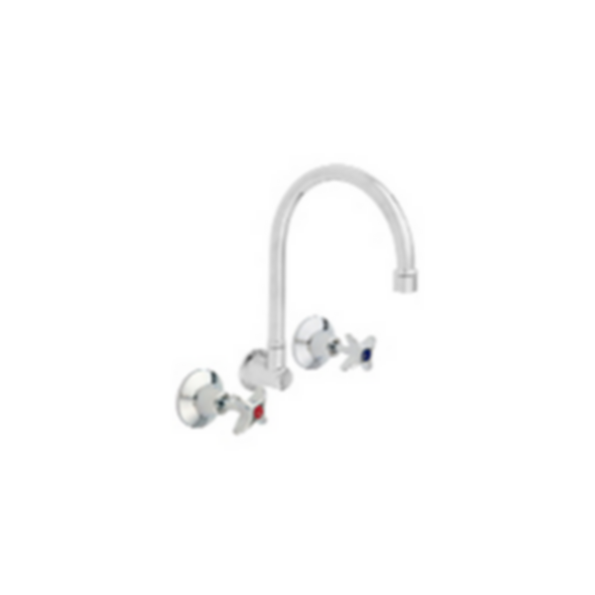 Vandal Resistant DPW Wall Sink Set (FG) by Galvin Engineering