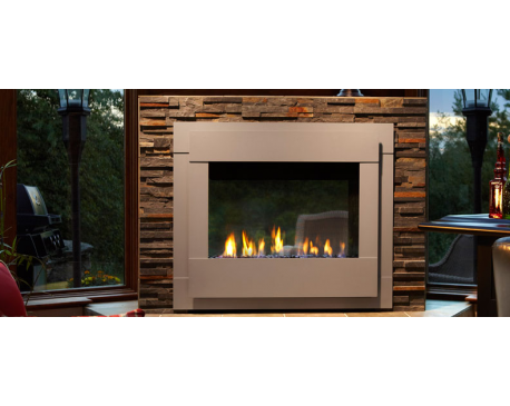 Twilight Modern Gas Fireplace - modlar.com