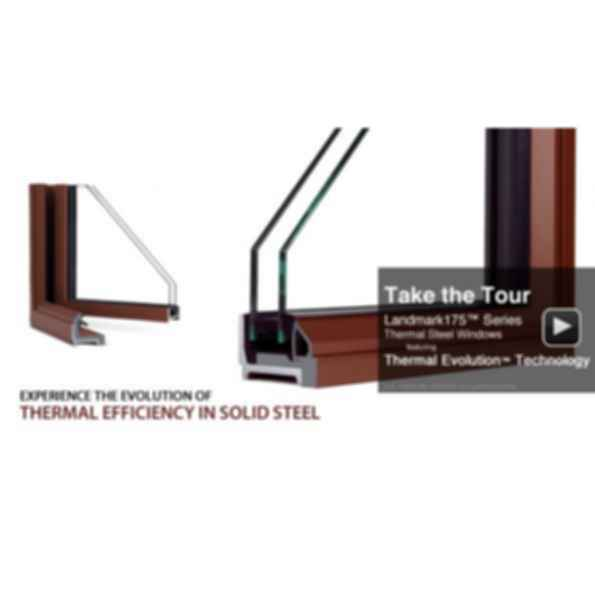 Landmark175™ Series Thermal Steel Windows and Doors