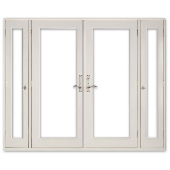 Vented Sidelight Patio Doors