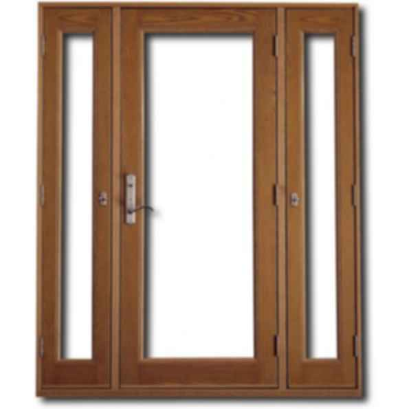 Vented Sidelight Patio Doors