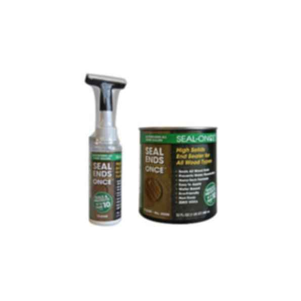 Seal Ends Once™ High Solids End Sealer For Wood