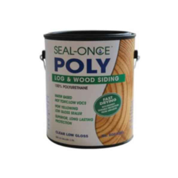 Seal-Once™ 100% Poly Log and Wood Siding Sealer