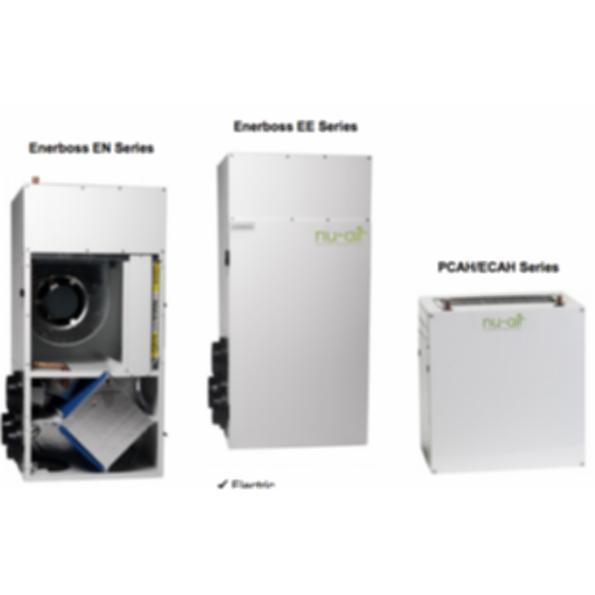 Nu-Air Enerboss Integrated Air Handlers & Fan Coils