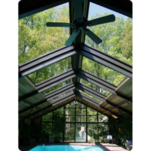 Single Panel Retractable Skylights