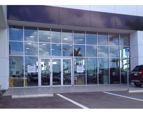 Commercial folding glass walls for Folding glass walls