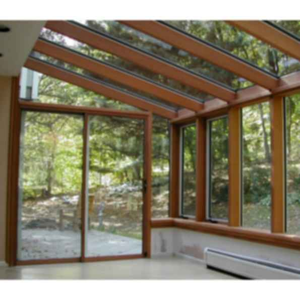 Wood Sunroom