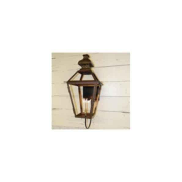 Logan - Handcrafted Copper Lantern