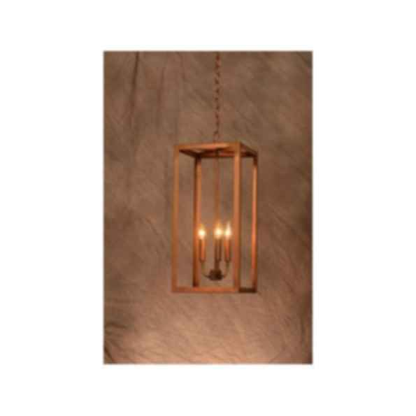 Camden Handcrafted Copper Chandelier