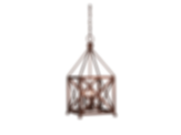 Cortland Handcrafted Copper Chandelier
