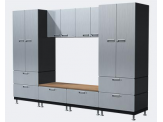 Hercke Laundry & Mudroom - Lockers with Bench