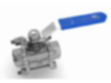 F&F DN20 Stainless Steel 3 Piece Ball Valve by Galvin Engineering