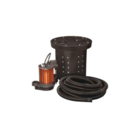 CSP-Series Crawl Space Sump Pump Kit