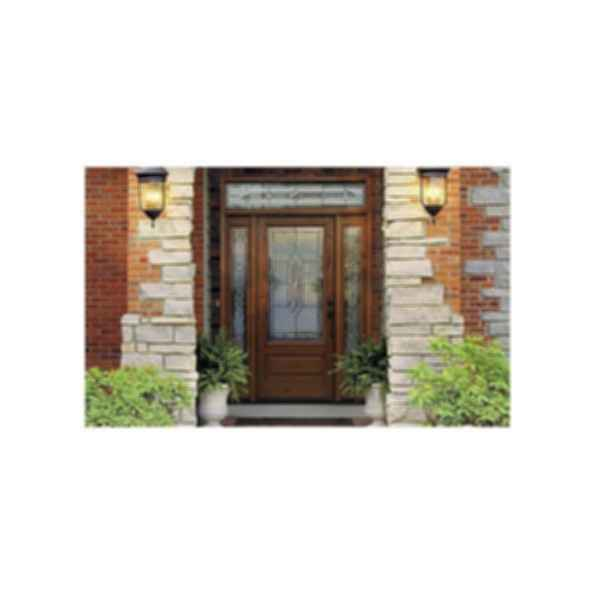Fiberglass Entry Door Systems - Classic Craft Oak