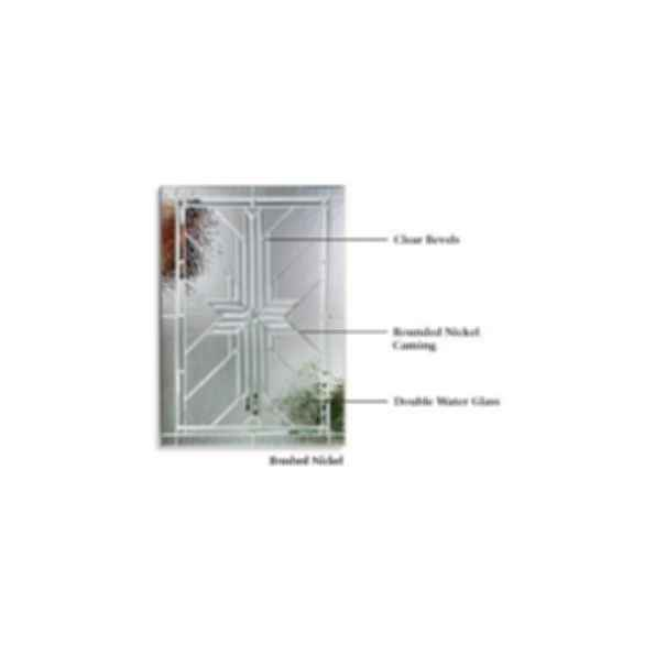 Fiberglass Entry Door Systems - Classic Craft Mahogany