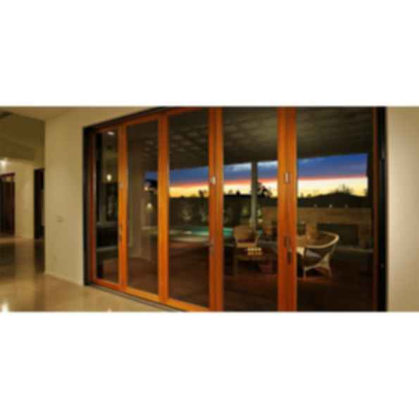 Aluminum Wood Folding Door