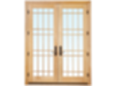 Weather Shield Hinged Patio Door