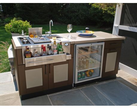 Built-In Cocktail Stations