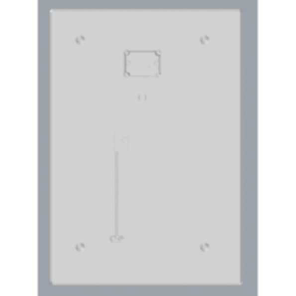 Delta Trim In Electronic Flush Valves & Retrofit Kits 1600T6102ATR-LS