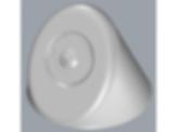 Delta Wallmount Showerhead Complete 063213A