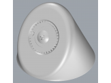 Delta Wallmount Showerhead Complete 063214A
