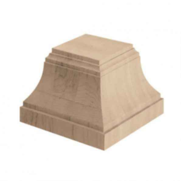 Craftsman Column Base 6w x 4 1/2h x 6d