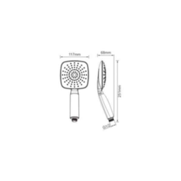 1 Function Hand Shower PHS1190CP