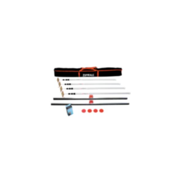 ZipWall 4-Pack Plus Poles