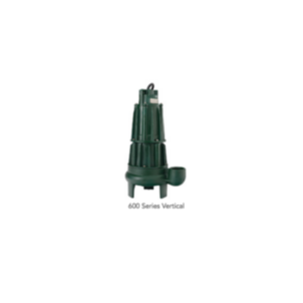 Sewage-Waste 600 Series Dewatering Pump