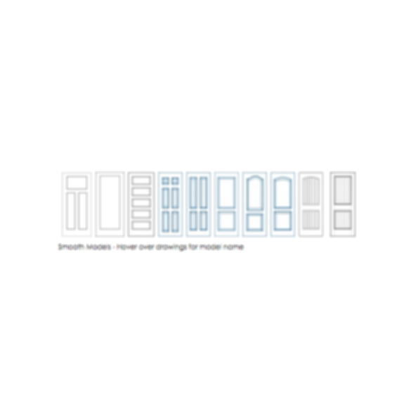 Molded High Density Fiberboard Doors