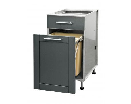 Door & Drawer or Full Height Door Only Trash Pull Out Cabinets