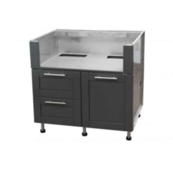 Grill Base Cabinets - Door and Drawer