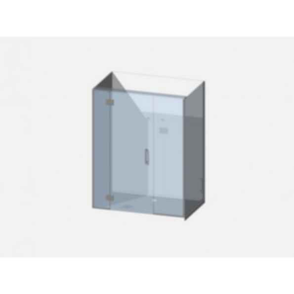 Showerwell Lucida SMC Shower Combo - SMCSTTENR149