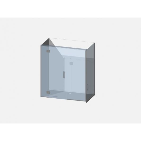 Showerwell Lucida SMC Shower Combo - SMCSTTENR169