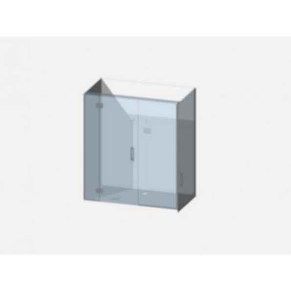 Showerwell Lucida SMC Shower Combo - SMCSTTENR169
