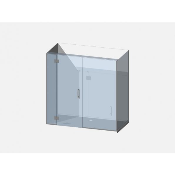 Showerwell Lucida SMC Shower Combo - SMCSTTENR189