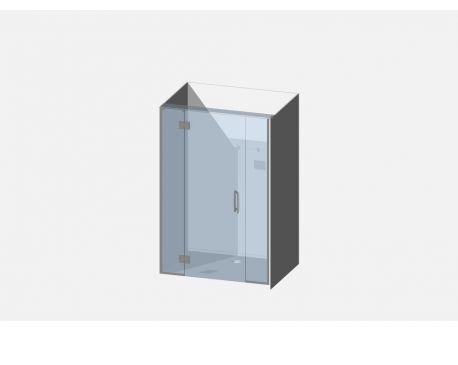 Showerwell Lucida SMC Shower Combo - SMCSTTEN129