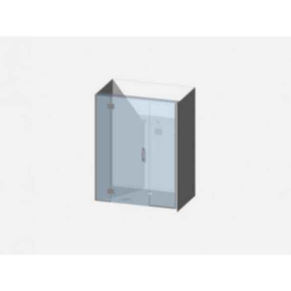 Showerwell Lucida SMC Shower Combo - SMCSTTEN149