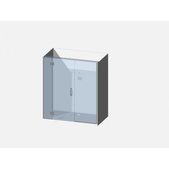 Showerwell Lucida SMC Shower Combo - SMCSTTEN169
