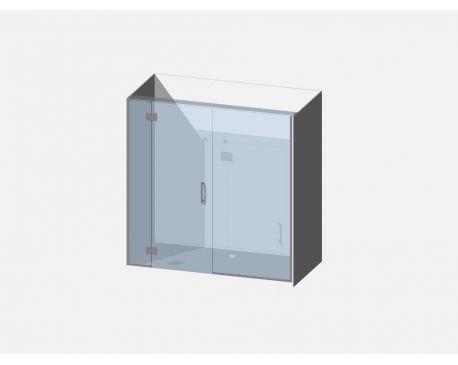 Showerwell Lucida SMC Shower Combo - SMCSTTEN189
