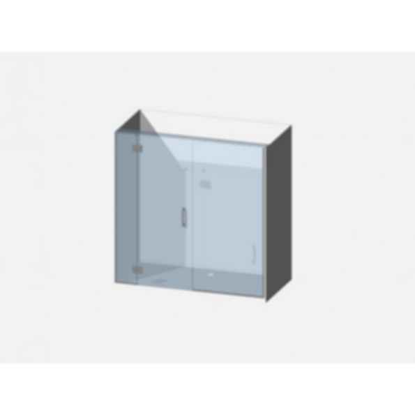 Showerwell Lucida SMC Shower Combo - SMCSTTEN189
