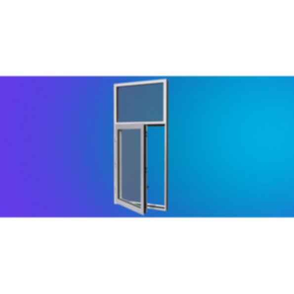 YOW 350 XT Thermally Broken Operable Window System for Insulating Glass